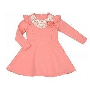 Платье детское Mini Maxi Платье для девочки персиковое UD0326 - фото 1
