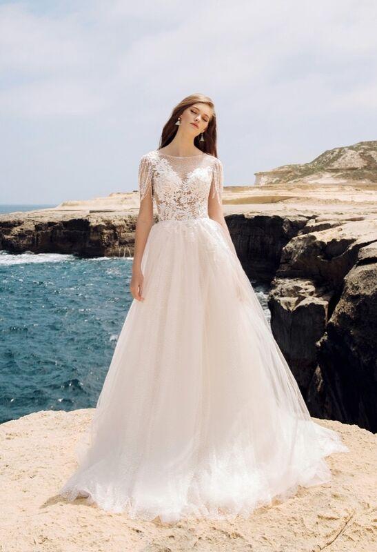 Свадебный салон Vanilla room Свадебное платье Анита - фото 2