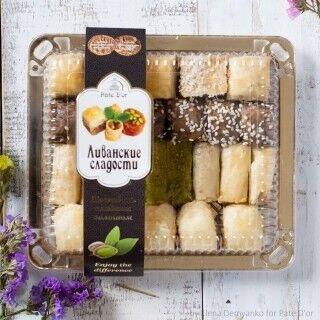 Подарок на Новый год Pate D`or Ливанские сладости ассорти «Финикия», 350 гр - фото 1