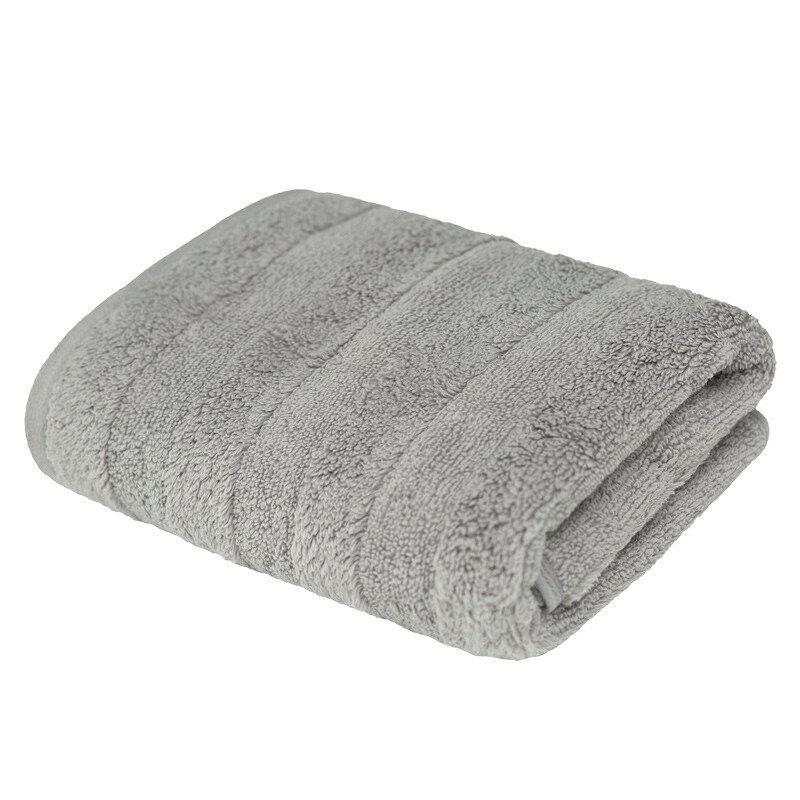 Подарок Ecotex Набор полотенец махровых «Авеню» серый, 2 шт - фото 1