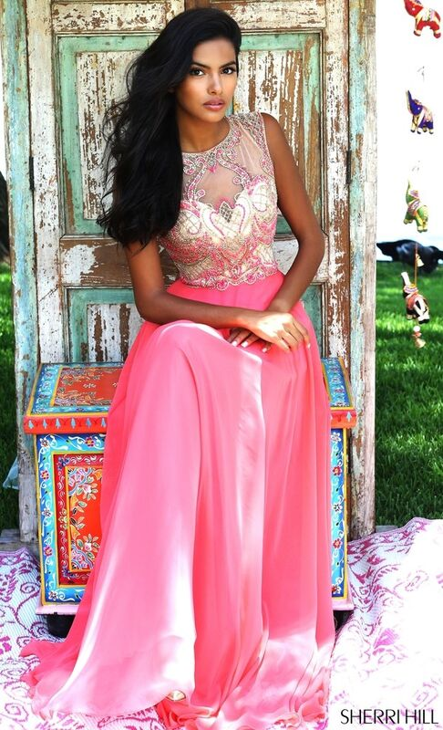 Свадебное платье напрокат Sherri Hill Платье свадебное 50160 - фото 8
