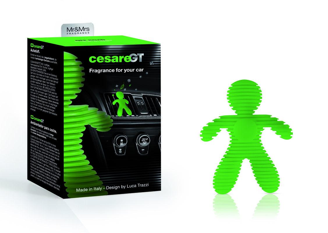 Подарок на Новый год Mr & Mrs Fragrance Ароматизатор воздуха для авто Cesare GT - фото 1