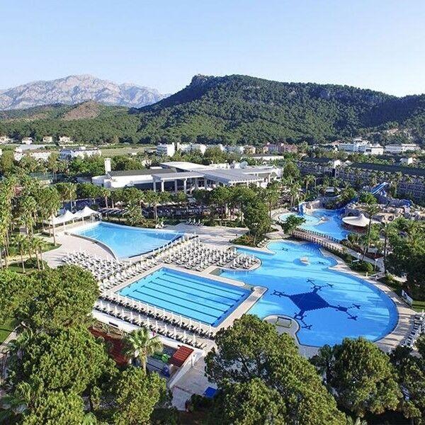 Туристическое агентство География Пляжный авиатур в Турцию, Кемер, Alva Donna World Palace 5* - фото 1