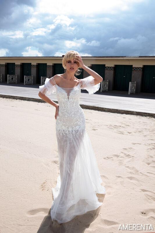 Свадебный салон Bonjour Galerie Свадебное платье AMERENTA из коллекции BON VOYAGE - фото 3