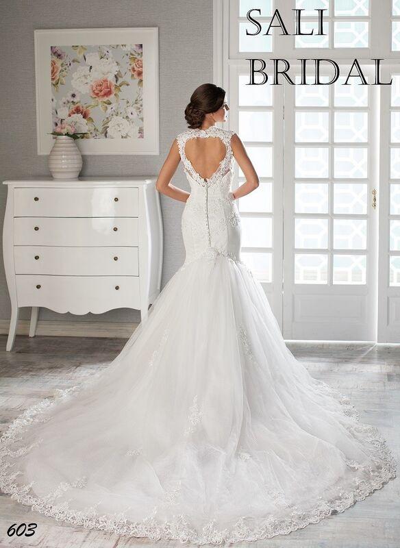 Свадебный салон Sali Bridal Свадебное платье 603 - фото 2
