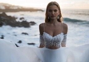 Свадебное платье напрокат Blammo-Biamo Свадебное платье Dream Ocean Kara - фото 5