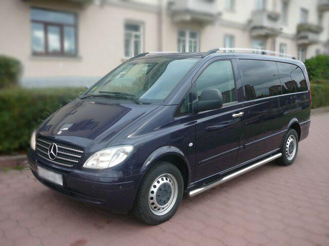 Аренда авто Mercedes-Benz Vito 2009 год - фото 1
