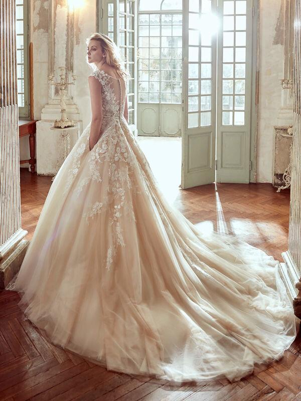 Свадебное платье напрокат Nicole Платье свадебное Elba - фото 2