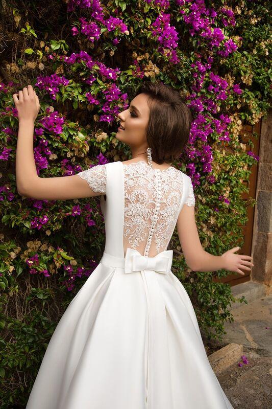 Свадебное платье напрокат Bonjour Платье свадебное «Ksantia» из коллекции LA SENSUALITE 2017 - фото 3