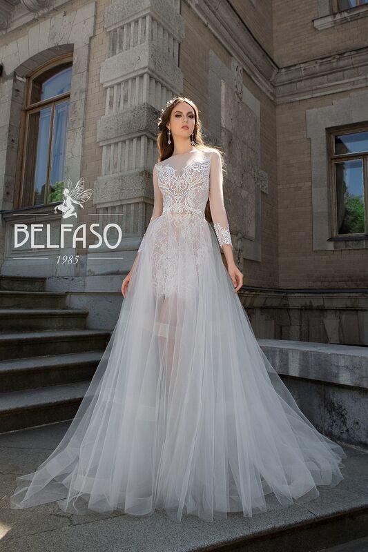 Свадебный салон Belfaso Свадебное платье Rami - фото 7