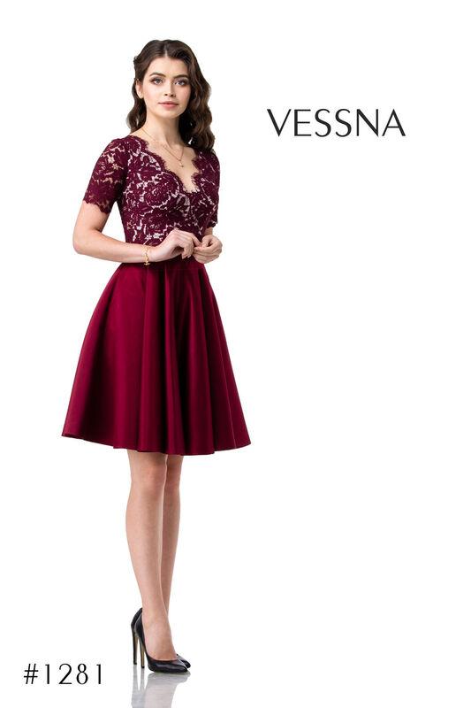 Вечернее платье Vessna Юбка и топ №1281 - фото 1