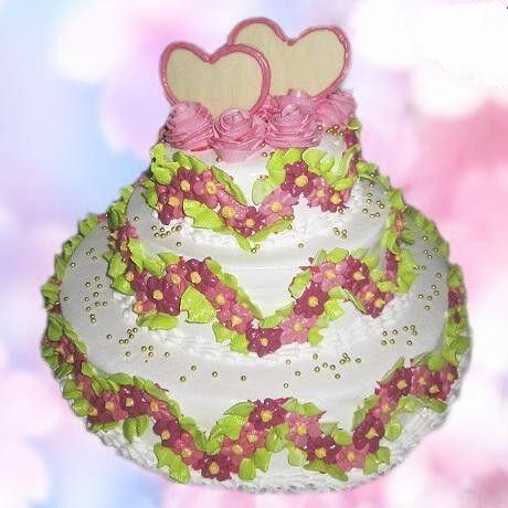 Торт Милано Свадебный торт №10 - фото 1