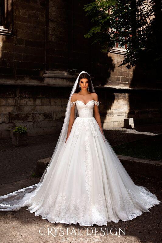 Свадебное платье напрокат Crystal Свадебное платье Verona - фото 4
