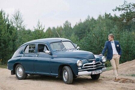 Прокат авто ГАЗ М20 «Победа» - фото 10
