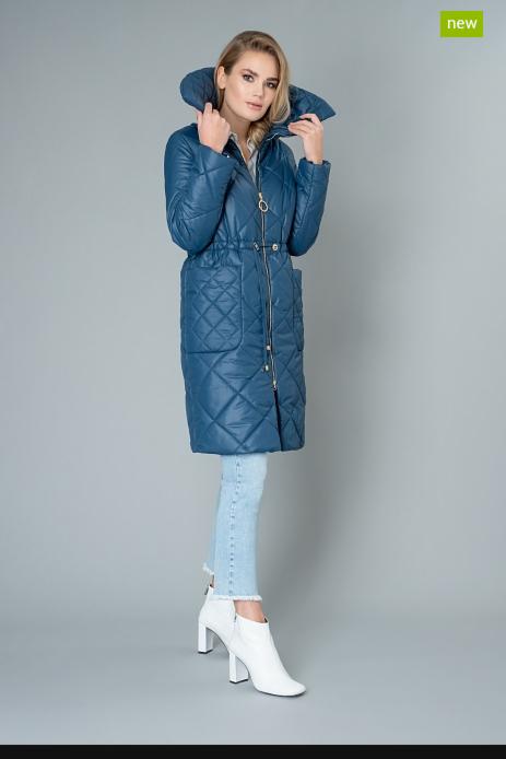 Верхняя одежда женская Elema Пальто женское плащевое утепленное 5-9112-1 - фото 1