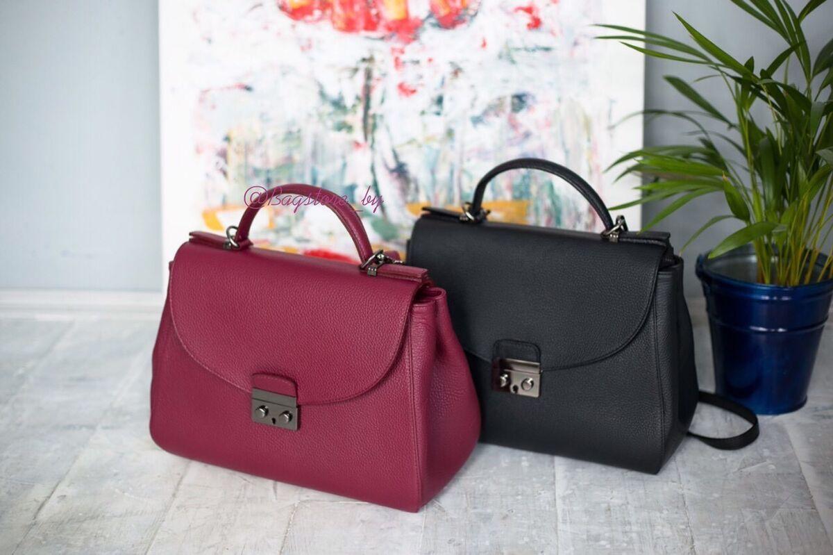 Магазин сумок Vezze Кожаная женская сумка C00389 - фото 1