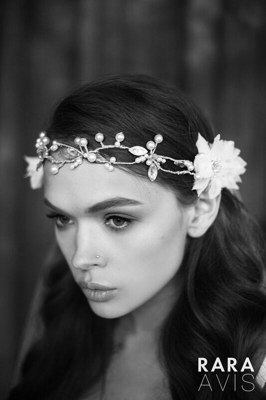 Свадебный аксессуар Rara Avis Украшение для волос №6 - фото 2