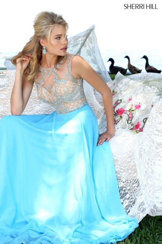 Свадебное платье напрокат Sherri Hill Платье свадебное 50160 - фото 6
