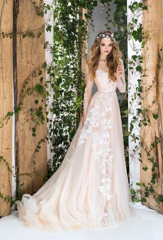 Свадебный салон Papilio Свадебное платье «Wonderland» #1835-L Фуксия - фото 1
