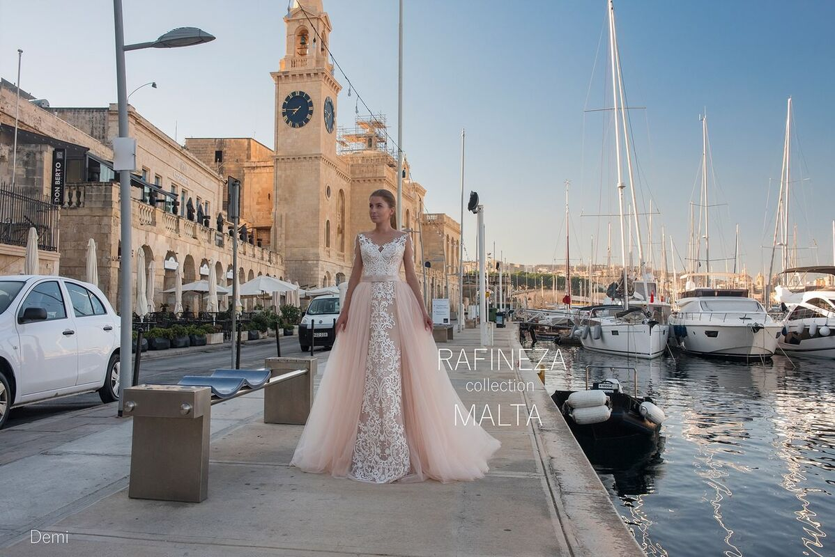 Свадебное платье напрокат Rafineza Платье свадебное Demi напрокат - фото 3