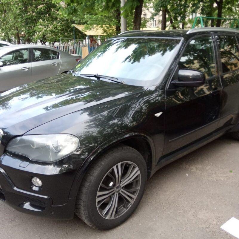 Прокат авто BMW X5 (E-70) черный - фото 1