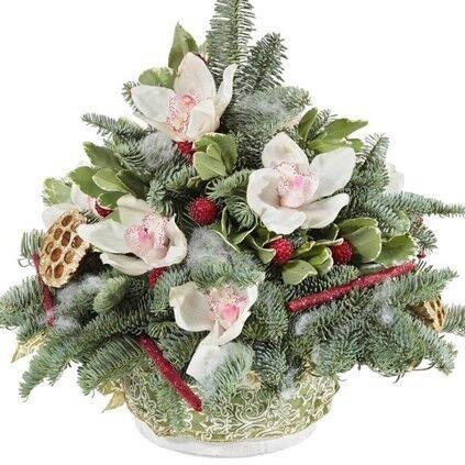Магазин цветов Долина цветов Новогодние прелести - фото 1
