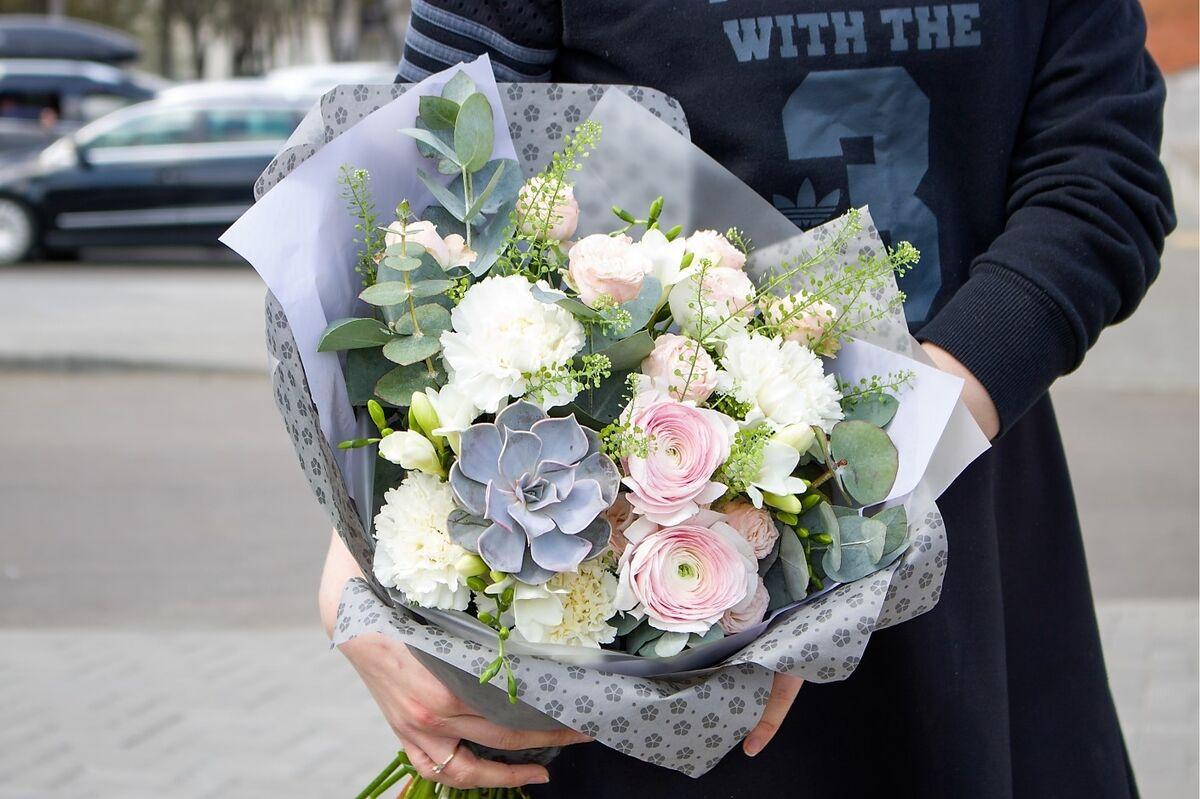 Магазин цветов VGosti.by Воздушное Безе - фото 3