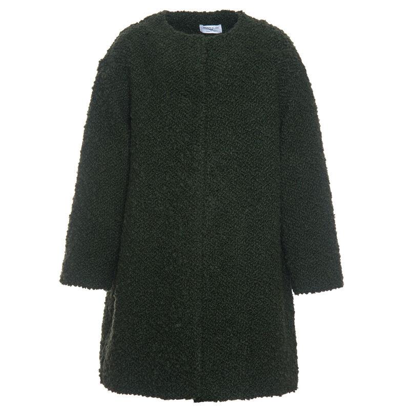 Верхняя одежда детская Monnalisa Пальто для девочки 118123 8501 0023 - фото 1