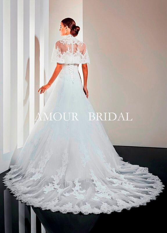 Свадебное платье напрокат Amour Bridal Платье свадебное 1210 - фото 2