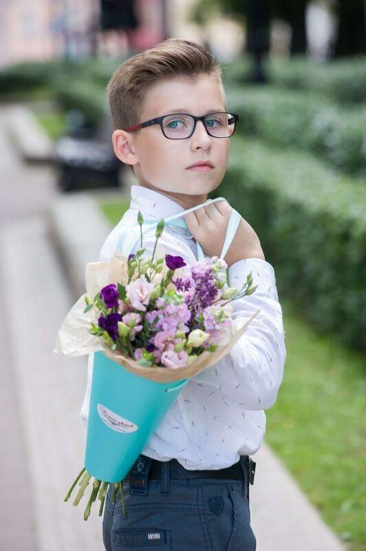 """Магазин цветов Долина цветов Букет  """"В школу к знаниям"""" - фото 3"""