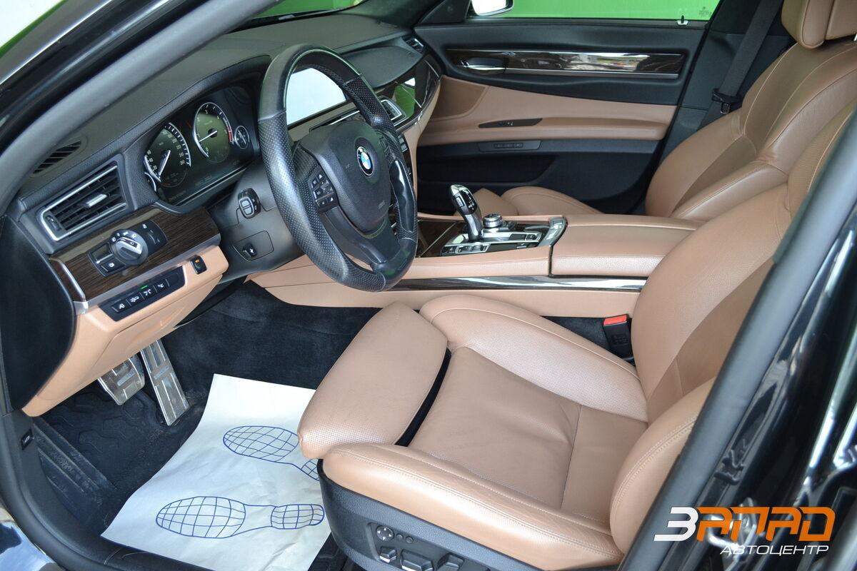 Аренда авто BMW 7/ F01 Mansory 2012 Черный - фото 5