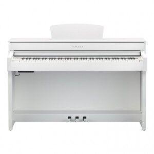 Музыкальный инструмент Yamaha Цифровое пианино Clavinova CLP-635WH - фото 9