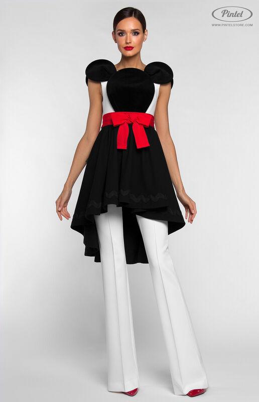 Костюм женский Pintel™ Костюм из платья и брюк DEEPSHIKA - фото 1