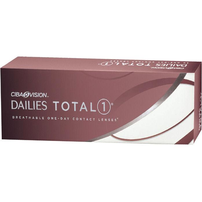 Линзы CIBA Vision Контактные линзы Dailies Total 1 - фото 1
