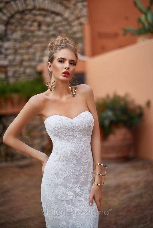Свадебное платье напрокат City Bride Свадебное платье VS11618 - фото 3