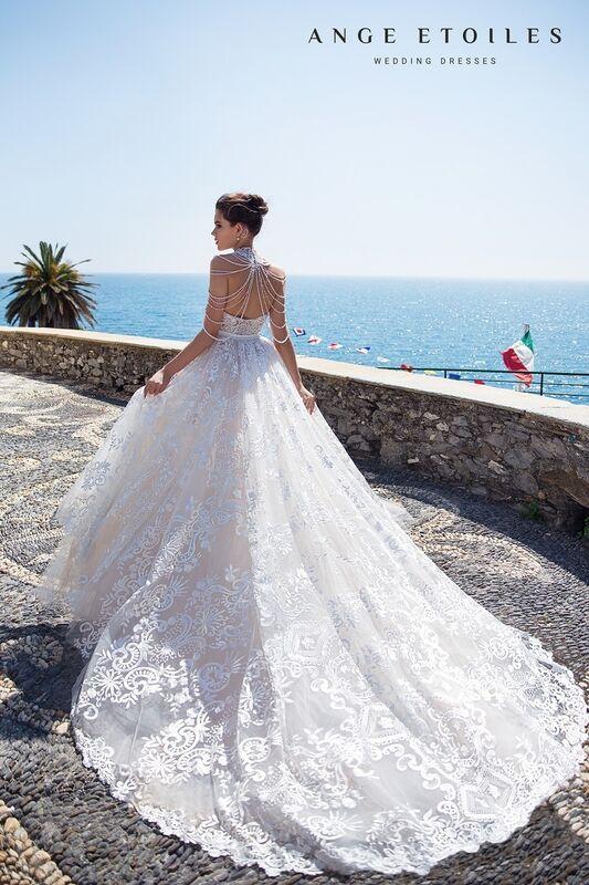 Свадебное платье напрокат Ange Etoiles Свадебное платье Ali Damore Beylia - фото 4
