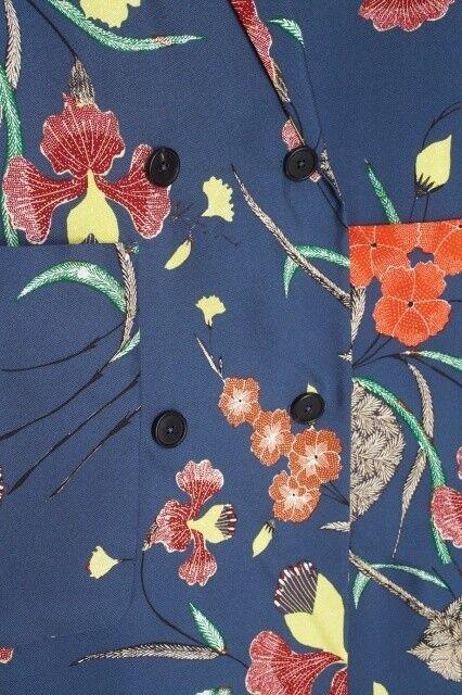 Верхняя одежда женская Diane von Furstenberg Пальто женское в цветы - фото 4