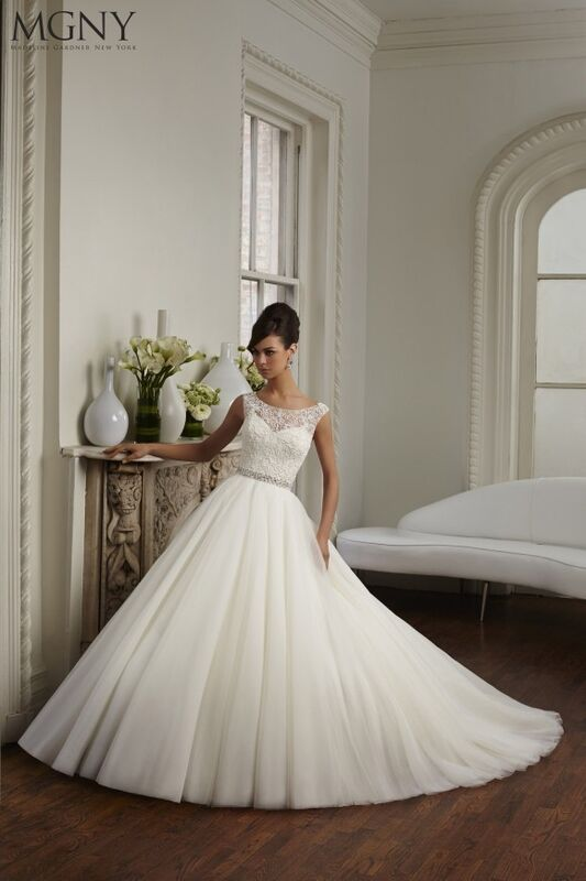 Свадебный салон Madeline Gardner New York Свадебное платье Cara 51029 - фото 1