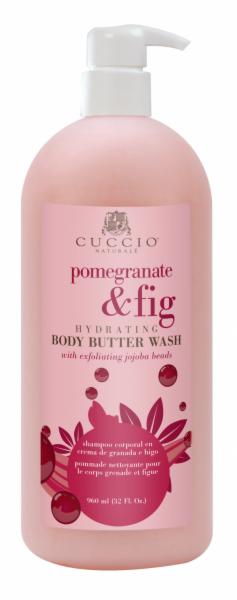 Уход за телом Cuccio Naturale Масло для мытья тела «Гранат с инжиром», 960 мл - фото 1