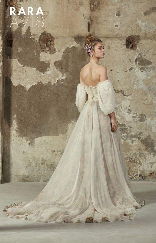 Свадебное платье напрокат Rara Avis Платье свадебное Floral Paradise Hilori - фото 3