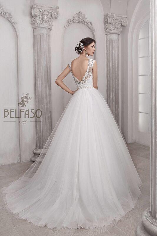 Свадебное платье напрокат Belfaso Платье свадебное Nikoletta - фото 2