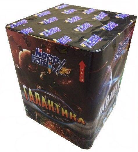 Фейерверк HappyFamily Батарея салютов «Галактика» FP-B207 - фото 1
