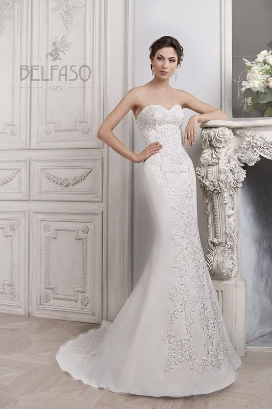 Свадебное платье напрокат Belfaso Платье свадебное Djovanna - фото 1