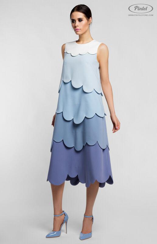 Платье женское Pintel™ Миди-платье А-силуэта Juvinianka - фото 2