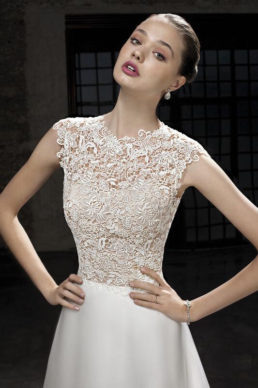 Свадебное платье напрокат Cosmobella Свадебное платье 7865 - фото 3