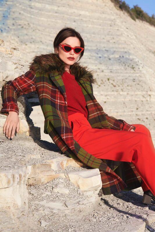 Верхняя одежда женская Elema Пальто женское демисезонное 1-7900-1 - фото 1