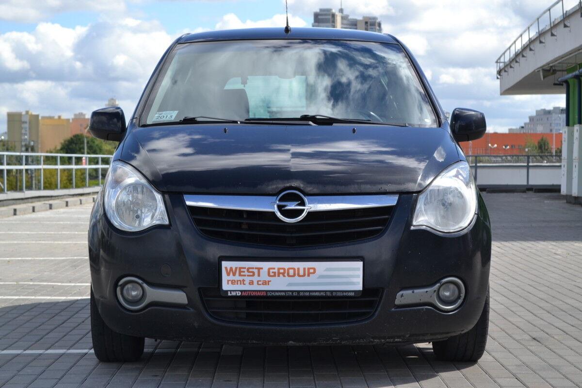 Аренда авто Opel Agila 2010 - фото 2