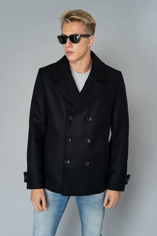Верхняя одежда мужская Etelier Пальто мужское демисезонное 1М-9598-1 - фото 1