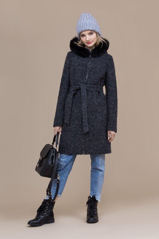 Верхняя одежда женская Elema Пальто женское зимнее 7-8109-1 - фото 1