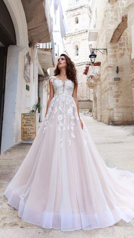 """Свадебное платье напрокат ALIZA свадебное платье """"Fleviani"""" - фото 2"""